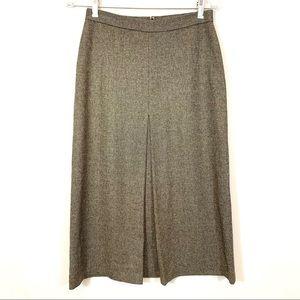 Dresses & Skirts - J Crew Grey Tweed A-Line Skirt